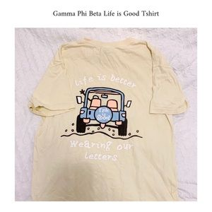 Gamma Phi Beta Shirt